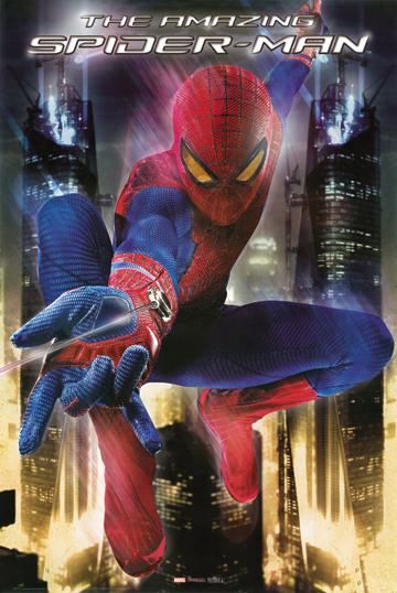 THE AMAZING SPIDER-MAN MOVIE POSTER 1
