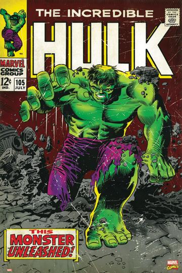 THE Incredible Hulk COMIC COVER POSTER 1