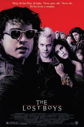 THE LOST BOYS POSTER 1