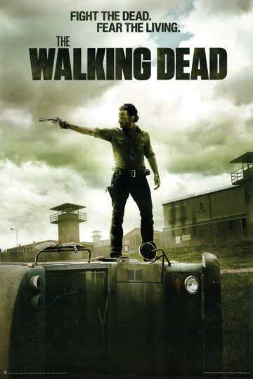 THE WALKING DEAD RICK GRIMMES POSTER 1