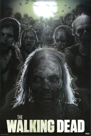 THE WALKING DEAD ZOMBIE POSTER 1