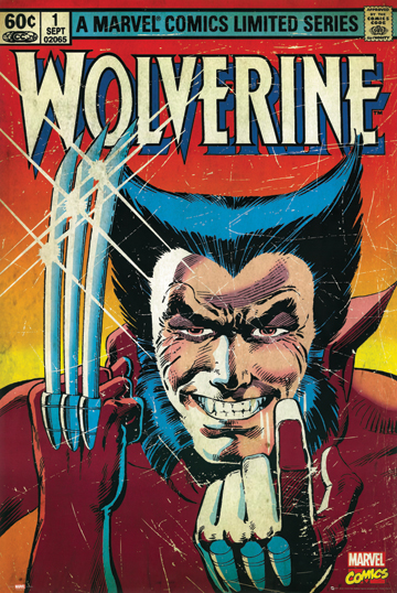 WOLVERINE COMIC COVER POSTER 1