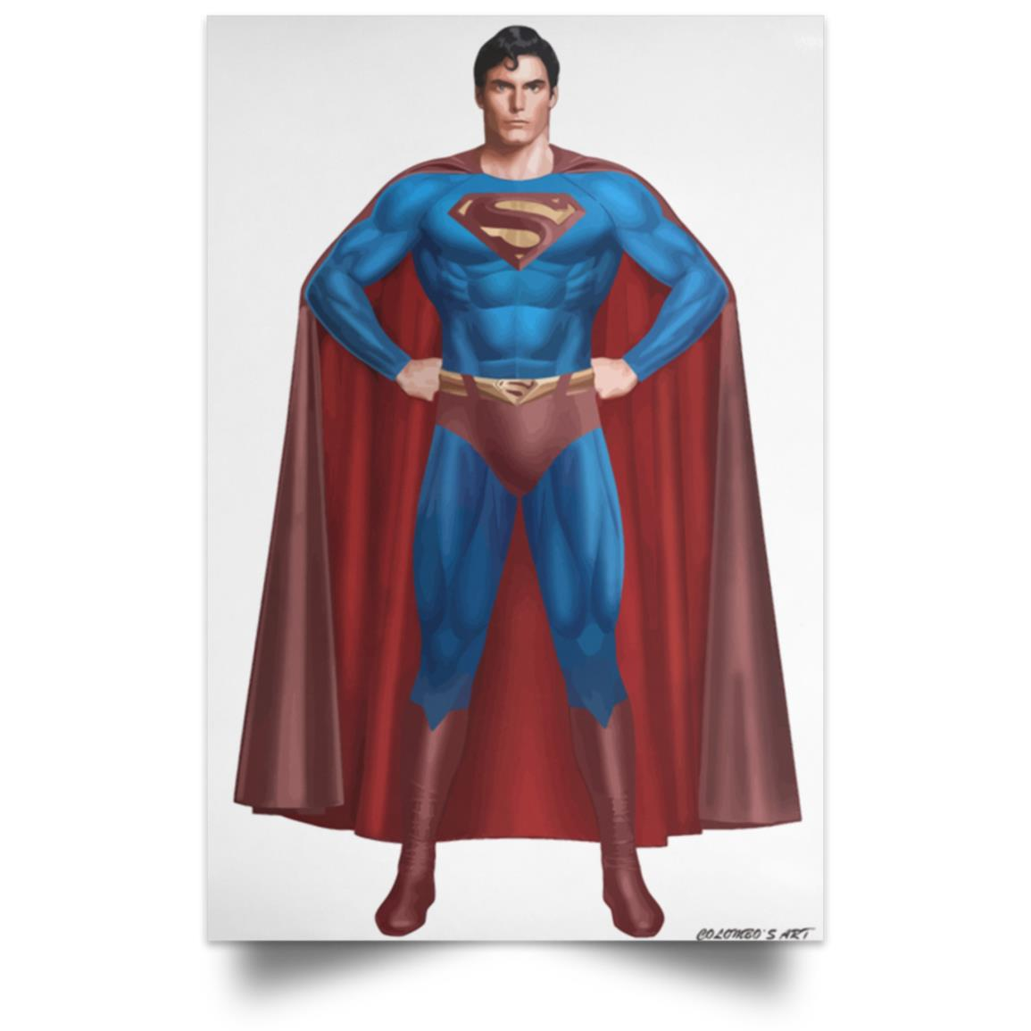 SUPERMAN CHRISTOPHER REEVES POSTER 1