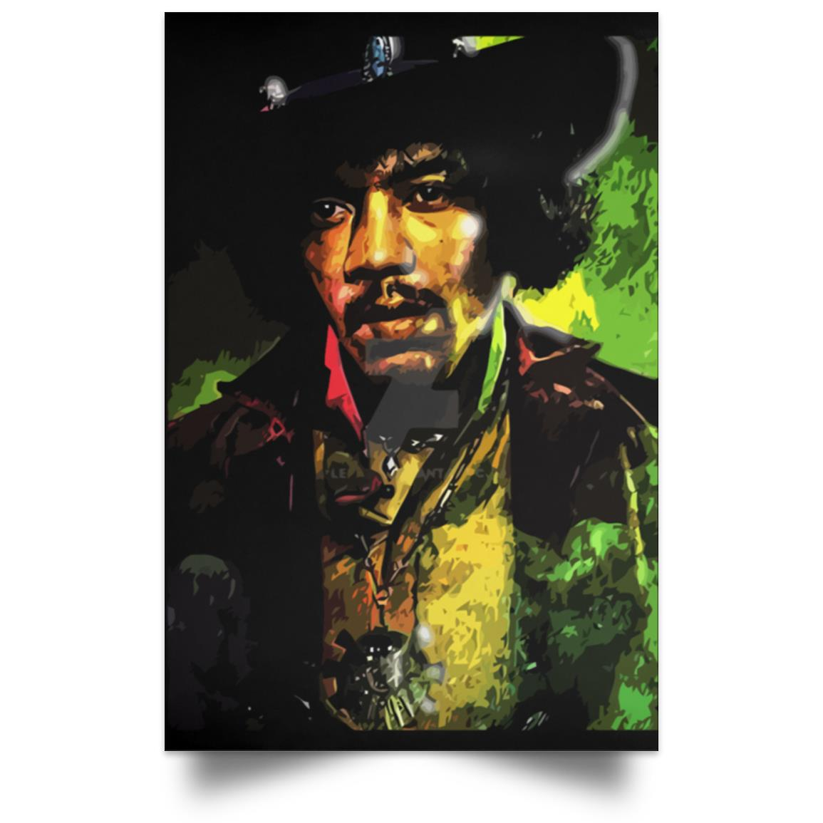 JIMI HENDRIX OUT OF MY MIND POSTER 1