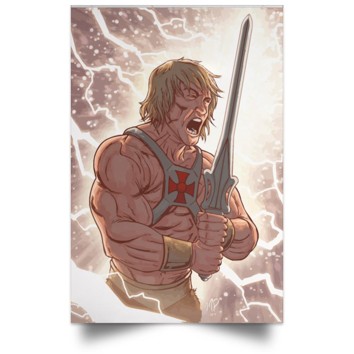 MASTERS OF THE UNIVERSE HE-MAN I HAVE THE POWER POSTER 1