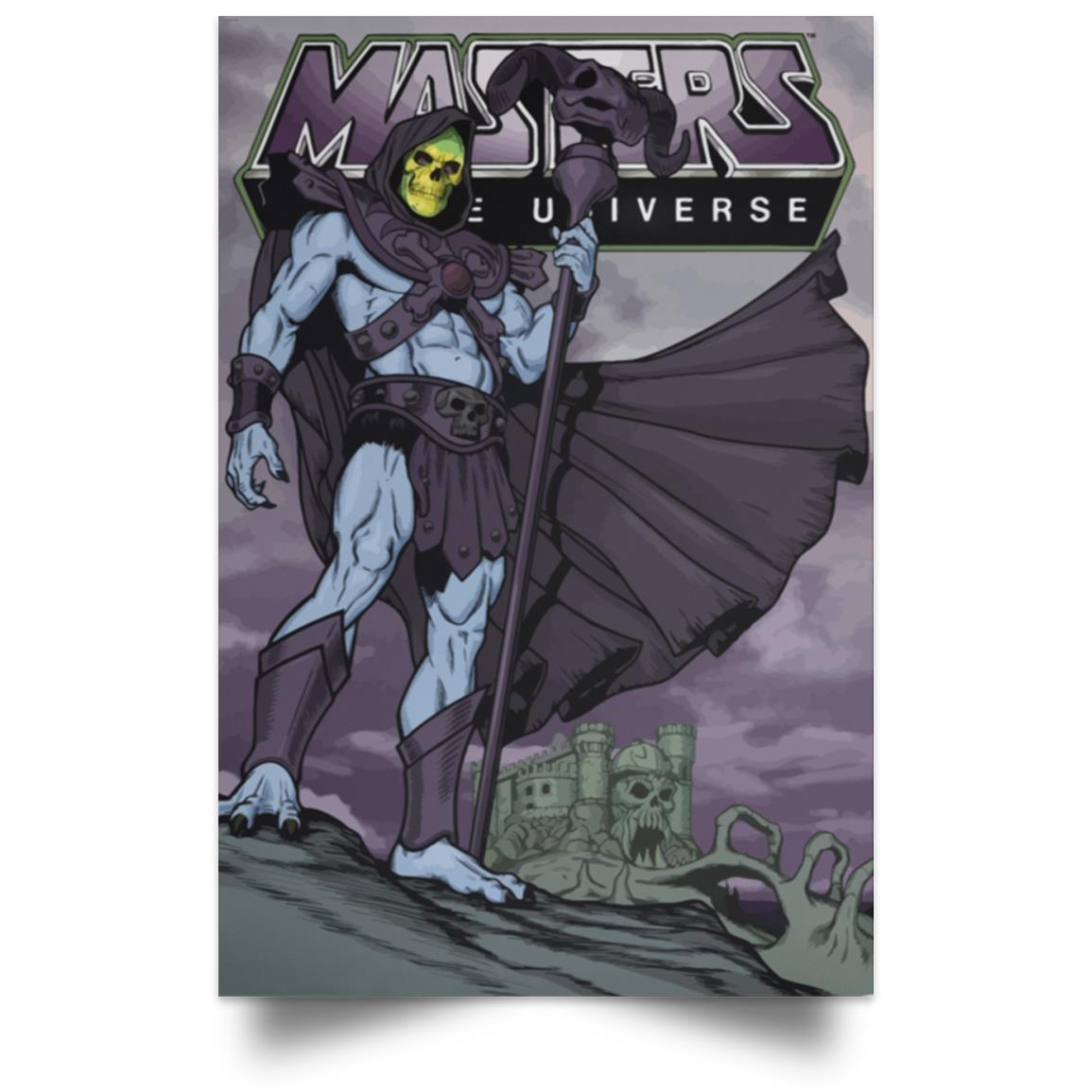 MASTERS OF THE UNIVERSE SKELETOR POSTER 1