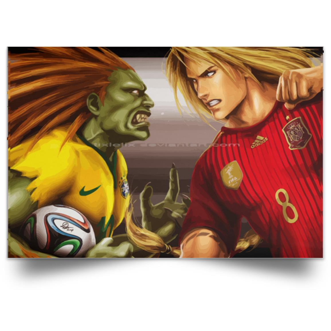 STREET FIGHTER BLANKA VS KEN 1