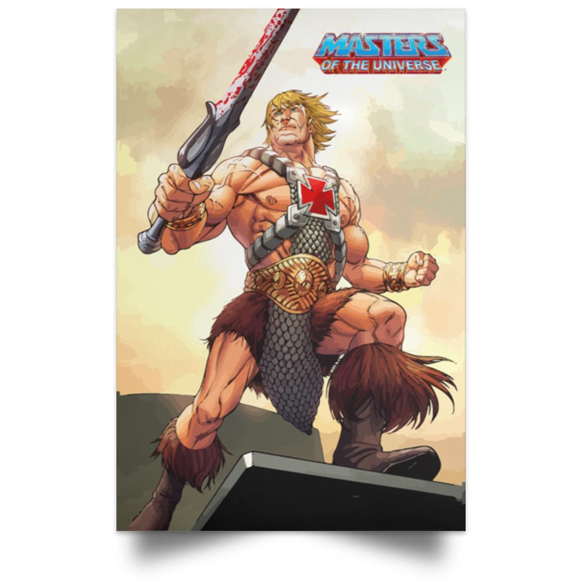 MASTERS OF THE UNIVERSE HE-MAN POSTER 1
