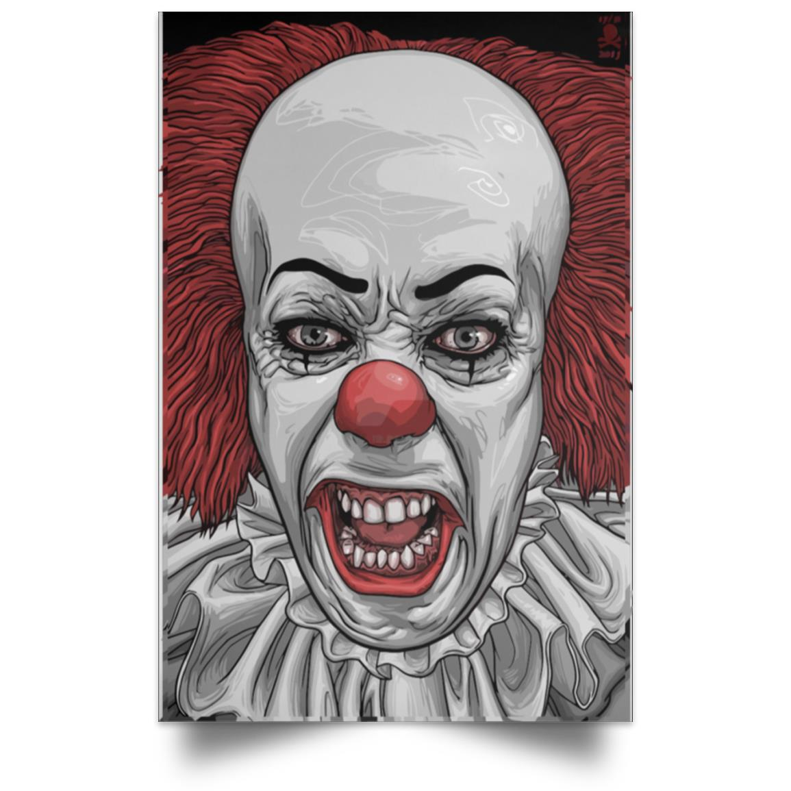 IT PENNYWISE PORTRAIT POSTER 1