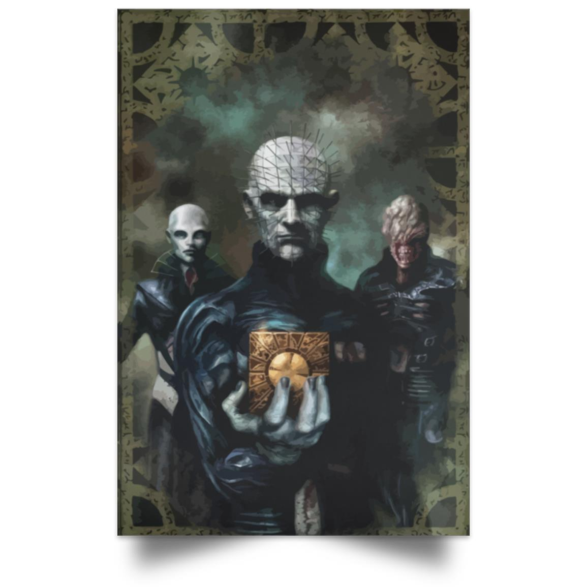 HELLRAISER WELCOME IN HELL POSTER 1