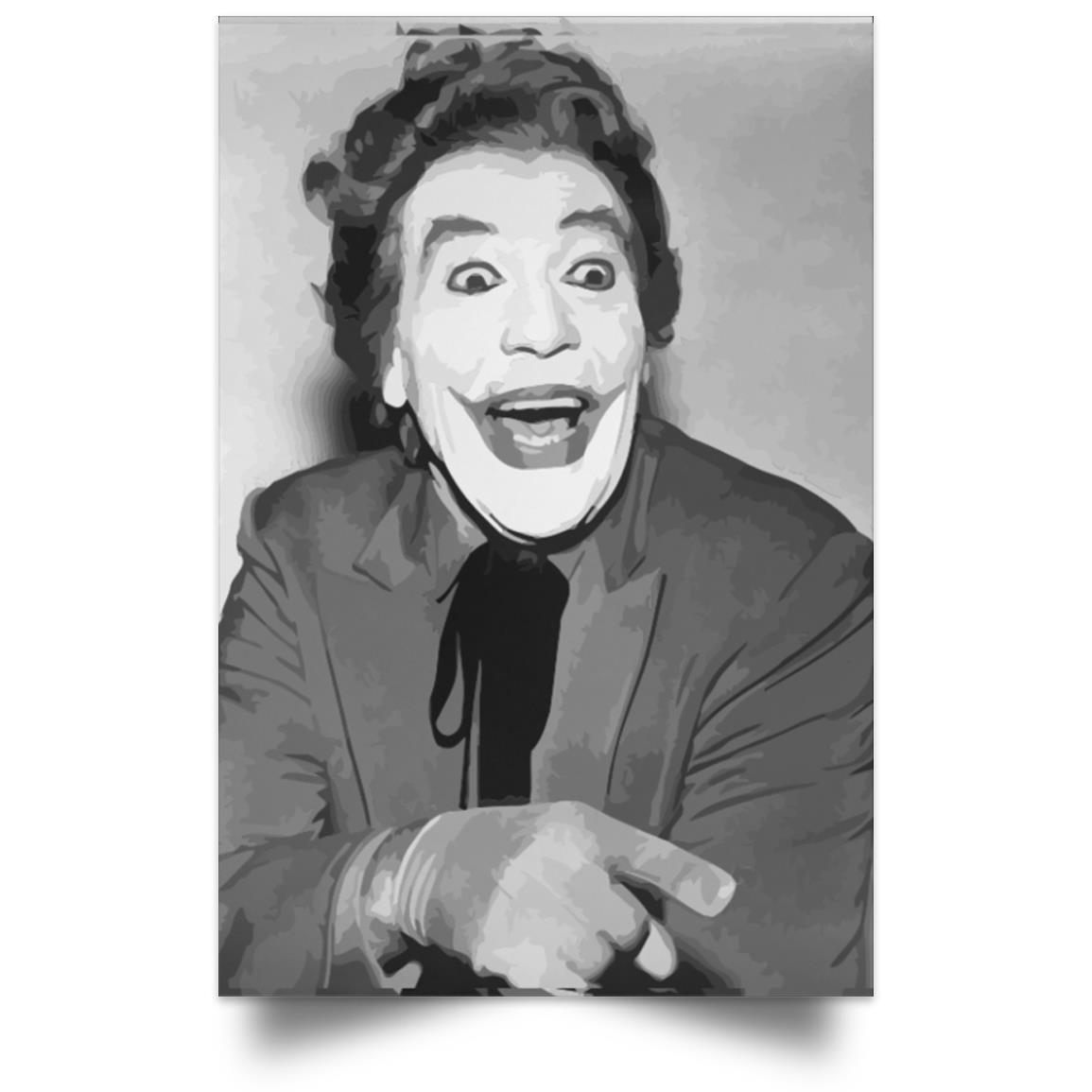 POSTER BATMAN 1966 LE JOKER PORTRAIT 1