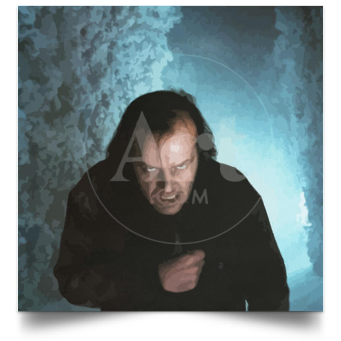 POSTER THE SHINING JACK TORRANCE LABYRINTHE 1