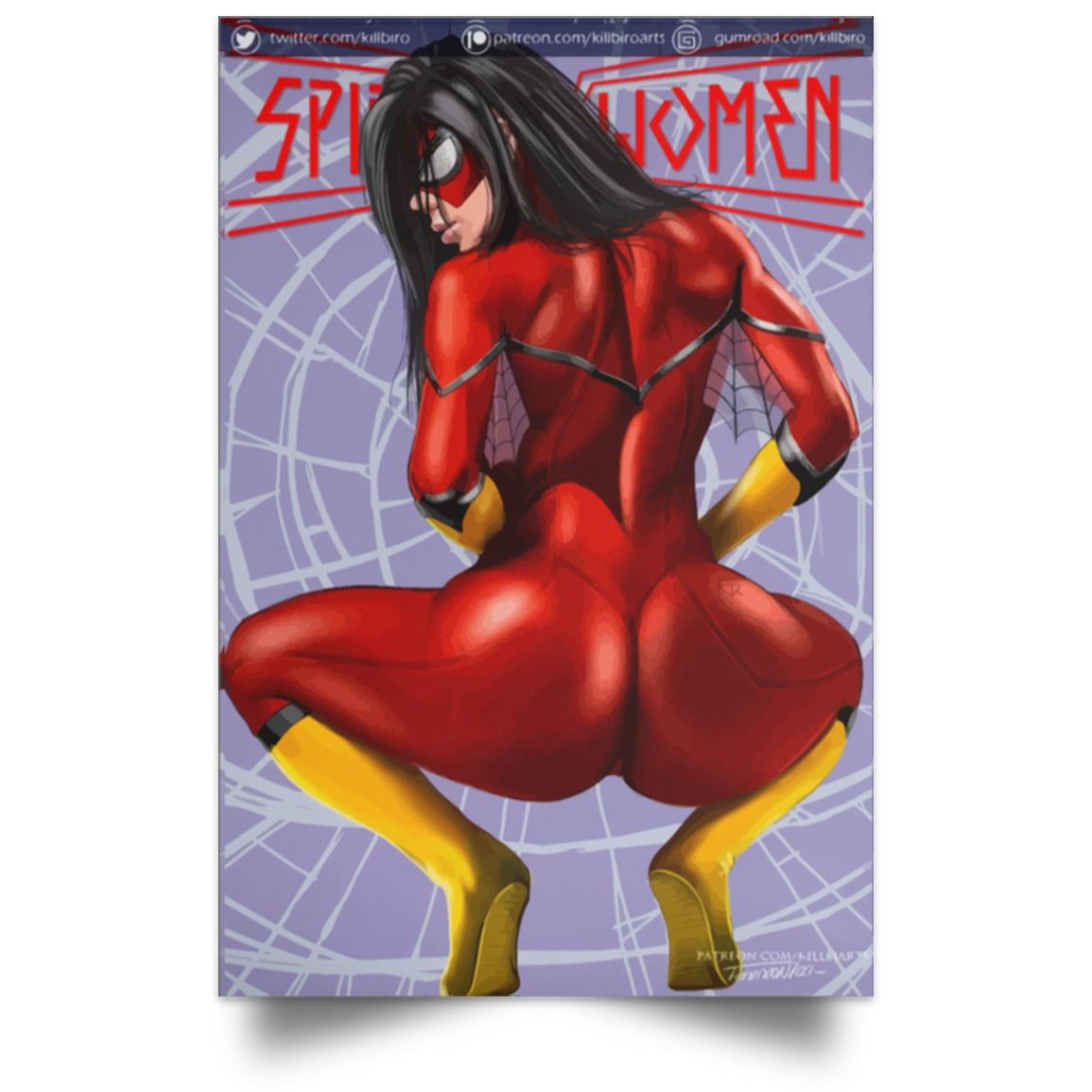 POSTER SPIDER-WOMAN 1