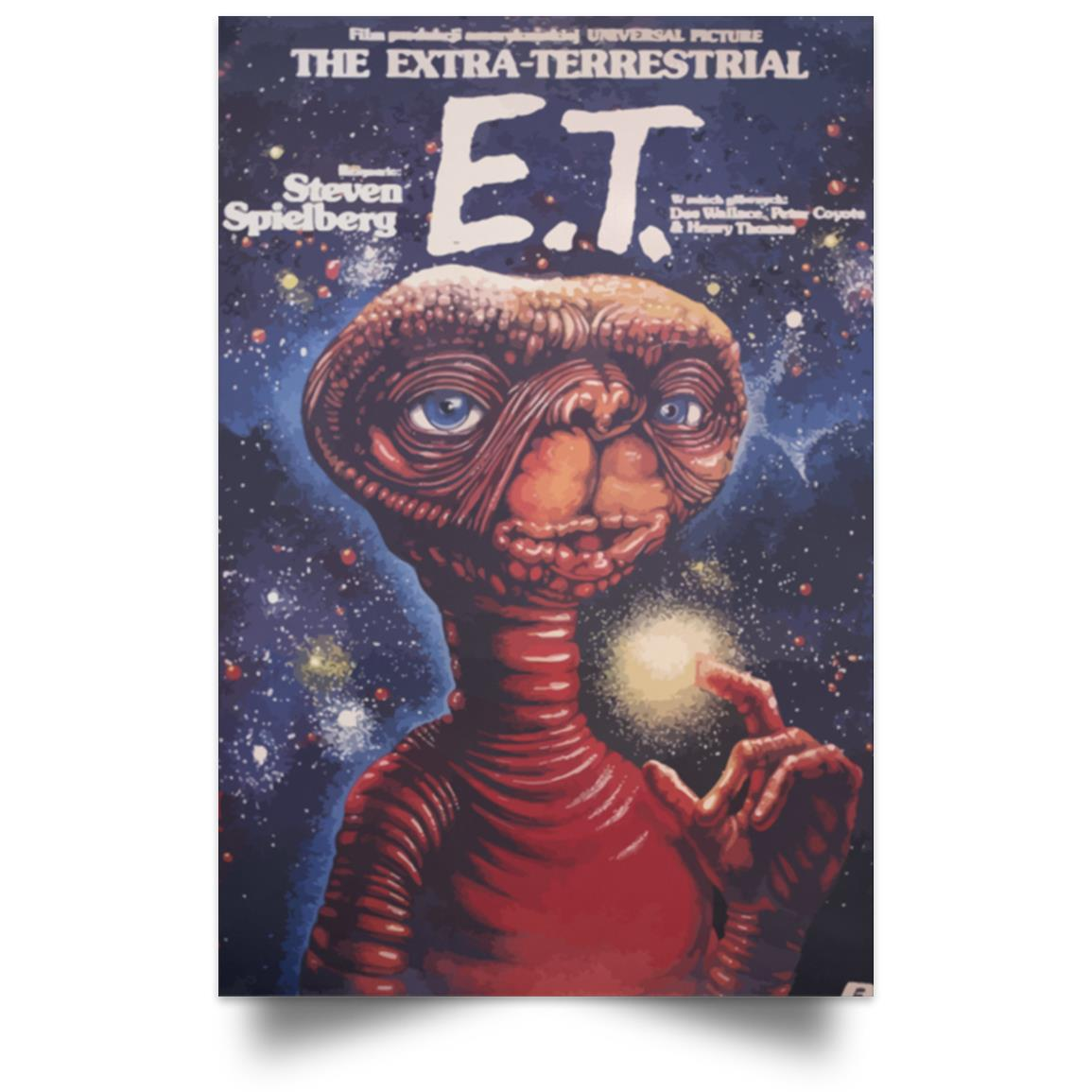 E.T. THE EXTRA-TERRESTRIAL POSTER 1