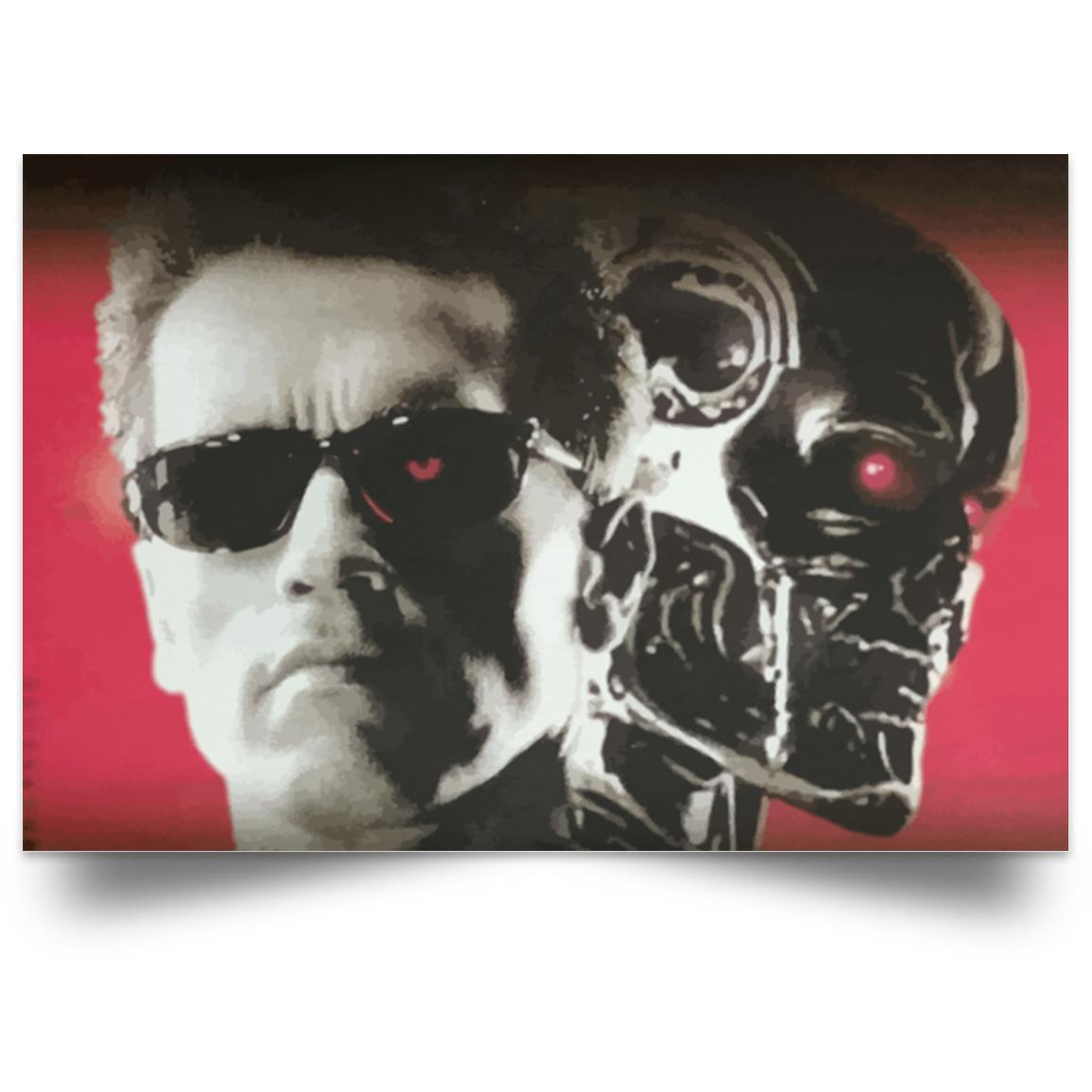 TERMINATOR T-800 DOUBLE VIEW POSTER 1
