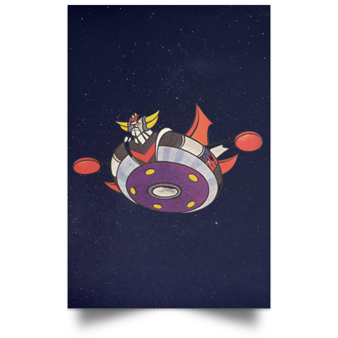 GRENDIZER UFO ROBOT IN SPACE POSTER 1