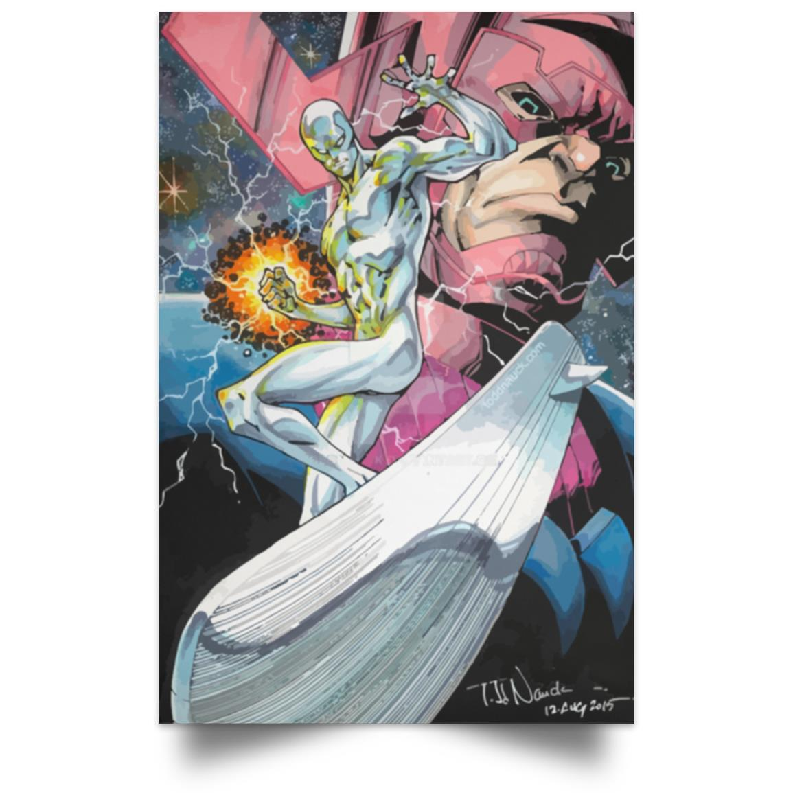 POSTER SILVER SURFER 1